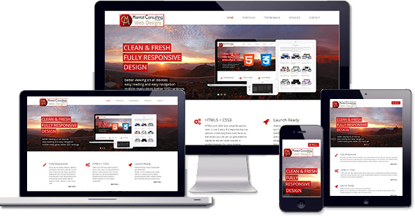 Customised responsive website created forCity Centre Budget Hotel